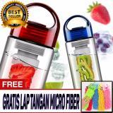 Beli Original Tritan Water Bottle With Fruit Infuser Bpa Free Botol Sehat Untuk Anak Dan Dewasa High Quality Free Lap Microfiber Online