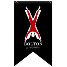 Oscar Store Game of Thrones Hanging Banner Flag Stark Tarly Lannister Bolton Home Decor - intl