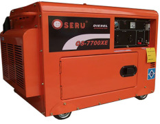 Diskon Oseru Genset 5500 Watt Silent Os 7700Xe Diesel Generator Set Electric Starter