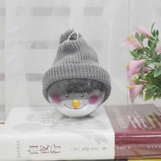 OSMAN Kartun Snowman Natal Bola Cantik Mainan Dekorasi Natal Hadiah untuk Anak-anak