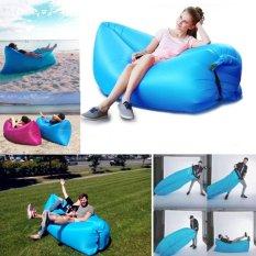 Outdoor Tempat Tidur Tidur Portable Lipat Inflatable Sofa Bed Beach Inflatable Cushion Istirahat Makan Siang-Intl