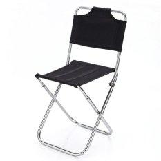 Outdoor Outdoor Lipat Berdaun Chair-Garden Beach Outdoor Portable Lipat Berdaun Kursi-Intl