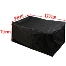 Outdoor Waterproof furniture Protector Table Set Kursi Sofa Cover Mengencangkan Garden 170*94*70 Cm-Intl