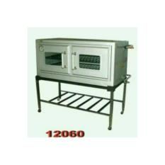 oven gas bima 12060 + termometer full stenles
