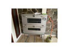 oven gas galvaloum 60x55 + termometer