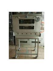 oven gas murah galvaloum 40x60 + termometer