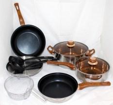 Ox-911 Basic Cookware Set 4+2Pcs