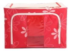 Toko Oxford Box Steel Frame Oxford Fabrics Foldable Storage Box 66L Sun Flower Merah Di Dki Jakarta