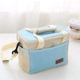 Oxford Thermal Lunch Bags Food Lunch Picnic Cooler Bag Terisolasi Wadah Penyimpanan 25X15X16 Cm Intl Tiongkok