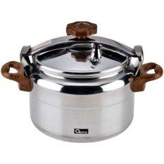 Graha FE - Panci Presto 8 Liter Aluminium - Oxone Alupress Pressure Cooker OX-2008