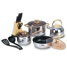 Oxone OX-777 Rosegold Cookware Set