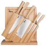 Spesifikasi Oxone Ox 95 Wooden Knife Set Pisau Set Talenan Murah