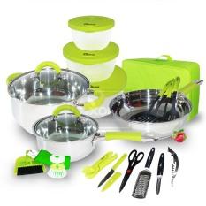 Oxone Panci Travel Cookware Set - Ox-992