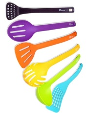 Graha FE Set Spatula / Sutil Nilon Bermagnet - Magnet Kitchen Tools Oxone OX-954