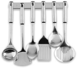 Graha Fe Set Spatula Sutil Set Stainless Steel Kitchen Tools Oxone Ox 963 Hitam Murah