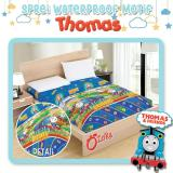 Jual Ozora Sprei Waterproof Motif Seprai Anti Air Seprei Anti Ompol Bocor Karakter Thomas Free Tas Exelusive Import