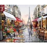 Miliki Segera Paint By Numbers Pasang Street Diy Lukisan Minyak Kanvas With Angka With Cat Akrilik For Rumah Ruang Tamu Kantor Gambar Dekorasi Dekorasi