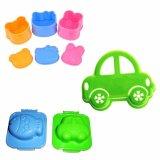 Harga Paket Alat Cetakan Serbaguna Untuk Nasi Bento 3In1 Telur Roti Sandwich Motif Car Motif Random Karakter Lucu Kesukaan Anak Lengkap
