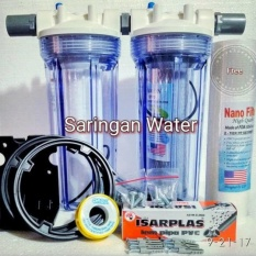 Spesifikasi Paket Filter Air Hemat 2Housing Keruh Berbau Lengkap Dengan Harga