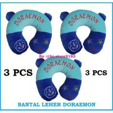 Toko Paket Hemat 3 Pcs Bantal Leher Doraemon Biru Travel Pillow Neck Pillow Bantal Mobil Bantal Travel Bantal U Bahan Dacron Berkualitas Lengkap Di Indonesia