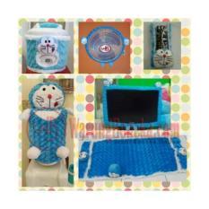 Paket Hemat Home Set 6 In 1 ( Sarung Galon, Kulkas, Mejikom, Tv, Kipas, Remote)