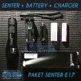 Penawaran Istimewa Paket Hemat Senter Ultrafire Led Cree Xm L T6 2000 Lumens E17 Terbaru