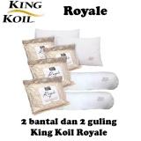 Toko Paket King Koil Royale 2 Bantal 2 Guling Lengkap