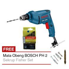 Jual Paket Mesin Bor Bosch Gbm 350 Re Mata Bor Besi Kenmaster Mata Obeng Bosch Murah