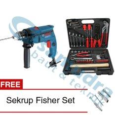 Beli Paket Mesin Bor Bosch Gsb 550 Tool Kit Kenmaster Sekrup Fisher Set Bosch Online