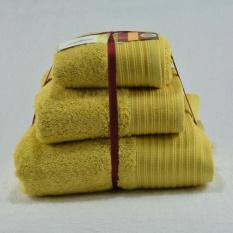 Harga Paket Murah Handuk Terry Palmer 3 Pcs Kuning Jawa Tengah