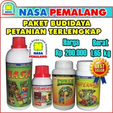 PAKET PERTANIAN ORGANIK NASA TERLENGKAP POWER NUTRITION SUPERNASA POCNASA HORMONIK