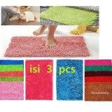 Jual Beli Paket Promo Keset Microfiber High Quality Keset Cendol Isi 3 Pcs Multi Color Dki Jakarta
