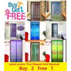Tirai Korden Gorden Jaring Kelambu Selambu Magnet Anti NyamukIDR64000. Rp 69.888