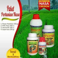 Paket Pupuk Organik Pertanian / Perkebunan NASA ( POWER NUTRITION + POC NAS + SUPERNASA + HORMONIK )