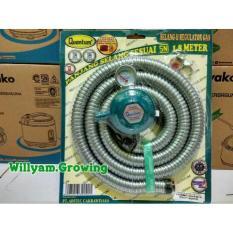Paket Regulator+Selang Kompor Merk Quantum Qrl-032 - Md3b8m