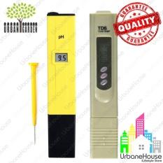 Paket Set pH Meter & TDS Meter HIGH QUALITY Untuk Hidroponik Aquaponic Aquarium dan air minum