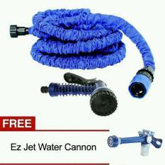 Paket Lengkap Murah Berkualitas Cuci STeam Ez Water Canon dan Selang Karet Magic Xhose 7.5