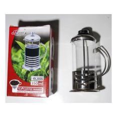 PALING DICARI Tea & Coffee Maker Glass / French Press Coffe Pluger 350 ml - Junai TERLARIS