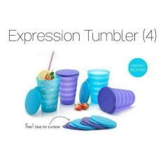 PALING DICARI Tupperware Expression Tumbler Expresion Gelas Tempat Minum TERLARIS