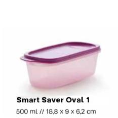 PALING DICARI Tupperware Smart Saver Oval 1 Modular Mates Wadah Tempat Bumbu Toples TERLARIS