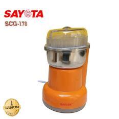 paling disuka paling dicari Sayota Coffee Grinder SCG 178 / Penggiling Biji Kopi terlaris