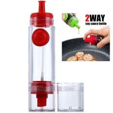 Penawaran Istimewa Paling Laku 2 Way Soy Sauce Bottle Botol Sauce 2 In 1 Sistem Tetes Dan Semprot Terbaru