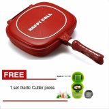 Harga Paling Laku Korean Double Pan 32 Cm Merah Free Pemotong Bawang Press Paling Laku Original
