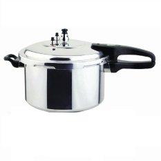 Paling Laku Panci Presto 10 Liter - Trisonic Preasure Cooker - 26 CM - Silver