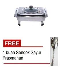 Paling Laku Tempat Makan Prasmanan Motif + Free Sendok Sayur Prasmanan By Paling Laku.