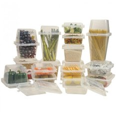 Spesifikasi Paling Laku Wow Container Interchangeable Food Storage Mix And Match Size Container Paling Laku Terbaru