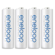 Diskon Panasonic Eneloop Battery Aa 4Pcs White Panasonic Di North Sumatra