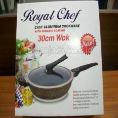 Review Terbaik Panci Aluminium Die Cast Royal Chef Wok 30Cm