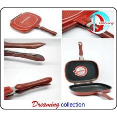 Panci Happy Call Double Pen Asli Lejel Korea 32 Cm - 7Xxx5p