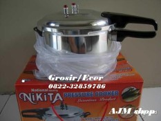 Panci presto nikita 8liter pressure cooker National quality Nikita - Seller Center
